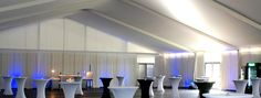 When a large tent is used for large parties or celebrations and set up for a single event, such as a wedding, then the tent is known as a wedding marquee. A wedding marquee in an outdoor tent on a beautiful spring, summer or fall day can be a truly romantic experience not only for the bride and groom but for the guests as well, with decorations and accessories that can create an extra special atmosphere.