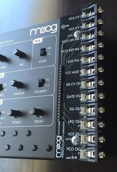 MATRIXSYNTH: Moog Werkstatt-01 - Analog Synthesizer with Moog C...