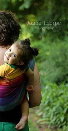 babywearing photography. woven wrap   Jaime Thorpe Photography