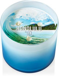 This thing is amazing. Honolulu Sun 3-Wick Candle - Home Fragrance 1037181 - Bath & Body Works