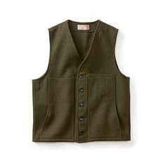 Mackinaw Wool Vest - Extra Long