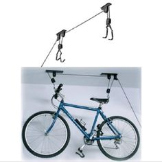Pulleys Stand Support Ceiling Max 20kg Scratch Resistant Bike Bicycle MTB