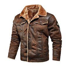 Winter Leather Jackets, Men's Leather Jacket, Cheap Mens Jackets, Mens Down Jacket, Womens Windbreaker, Islamic Clothing, Mens Fall, Black, Leather Jackets