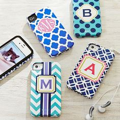 Girls Printed Phone Cases - iPhone // give you phone a pop of color!