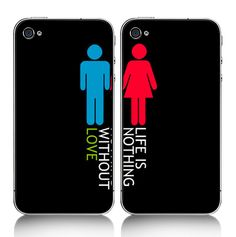 $28.57 The Apple 4s mobile phone case sets. A good gift for that special someone in your life <3
