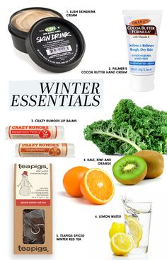 Winter Survival, Winter Essentials, Hand Cream, Cocoa Butter, Peppermint, Gingerbread, The Balm, Vitamins, I Am Awesome