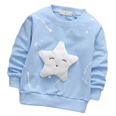 Apr 2020 - 2017 Children Boy Girl Sweatshirt Autumn Winter Hoodies Star Pattern Long Sleeve Casual Pullover Kids Jacket Outwear Coat - Kid Shop Global - Kids & Baby Shop Online - baby & kids clothing, toys for baby & kid Baby Outfits, Kids Outfits, Boys Hoodies, Sweatshirts, New Style Tops, Baby Shop Online, Kids Coats, Stylish Kids, Long Hoodie
