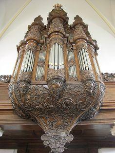 Nijkerk - Old Church, organ from below   Flickr - Photo Sharing!