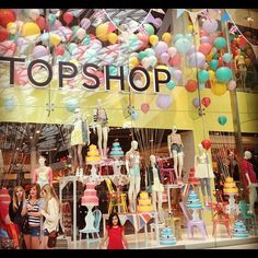 Top Shop -- amazing window display