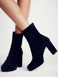 size 40 7463d f6d28 FP Collection Day For Night Platform Ankle Boot at Free People Clothing  Boutique Skor Sandaler,