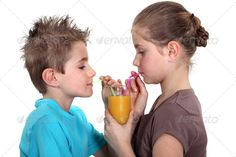 Buy Two children sharing orange juice by Phovoir on PhotoDune. Two children sharing orange juice Citrus Juicer, Second Child, Orange Juice, Author, Stock Photos, Search, Children, Second Baby, Young Children