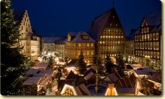 Hildesheim, Germany | 17 Actual Towns That Look Just Like Hogsmeade