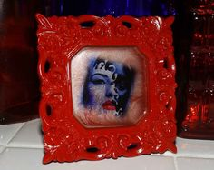 Masquerade Illusion Marble Glass Art by GlassByPriscilla on Etsy
