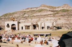 The Passion Play is performed in July in Drumheller.
