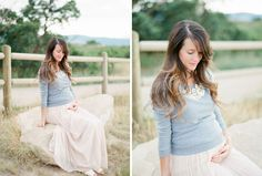 Beautiful Film Maternity Shoot in the Mountains