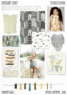 Spring/Summer 2016 - Younger Girls Fashion - Creature Craft Trend