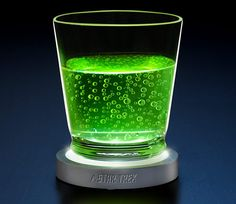 Shop for Star Trek Transporter Pad LED Coasters in . A set of 4 coasters that look and sound like ST:TOS transporter pads. Star Trek Transporter, Star Trek Tos, Star Wars, Bar Tools, Unusual Gifts, Geek Gifts, Cool Gadgets, Coaster Set, Own Home