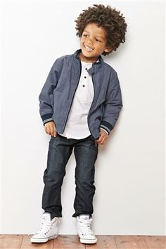 Buy Chambray Harrington Jacket (3mths-6yrs) online today at Next: United States of America