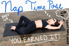 Instead of Reclining Bound Angle...   11 Slightly More Accurate Names For Yoga Poses