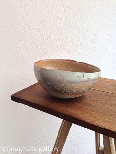 Bowl by Ueda Yuji, Shigaraki ware.