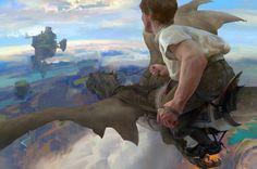 Dragon Ride by SoufMeng