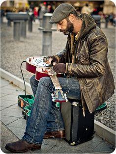 Musician, Paris