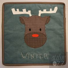 Rudolf the red nosed reindeer - atelier077