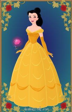 Disney Princesses as Colored Women | B for Bel