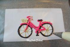 Chocolate Bicycle Tutorial by MyCakeSchool.com