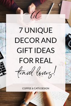 7 unique decor and gift ideas for real travel lovers. Travel inspired home decor, jewelry, gift ideas and much more! Living Room Decor Inspiration, Cat Design, Design Ideas, Scandinavian Living, Gifts For Your Boyfriend, Cute Home Decor, Home Decor Trends, Inspired Homes, Decoration