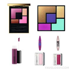 Cosmetics Items Featuring Yves Saint Laurent Eyeshadow Palette Eyeshadow Mac Cosmetics Lip Gloss And Maybelline From February 2016 #beauty #makeup