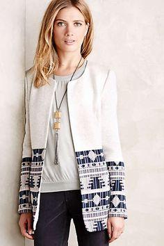 Tapestry Drop Coat