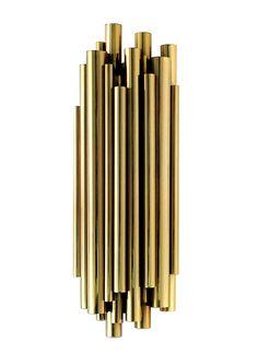 Le meilleur de Maison & Objet Miami | BRUBECK wall lamp , Classic Lighting fixture for home decor @delightfulll | See more http://www.brabbu.com/en/partners-products.php