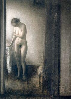 Vilhelm Hammershoi (1864-1916, Denmark)
