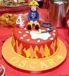 Feuerwehrmann Sam Kuchen Henri Torte
