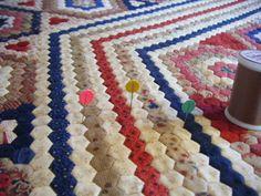 My 'Dear Prudence' Hexagon Quilt - Gum Valley Patchwork