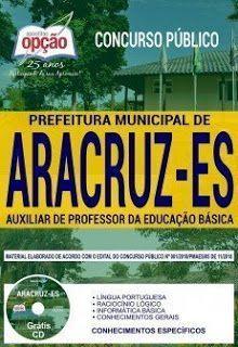 Apostila Prefeitura De Aracruz 2019 Pdf Prefeitura Auxiliar De
