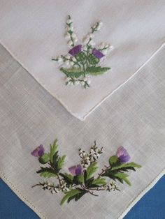Wonderful Ribbon Embroidery Flowers by Hand Ideas. Enchanting Ribbon Embroidery Flowers by Hand Ideas. Silk Ribbon Embroidery, Hand Embroidery Patterns, Fabric Patterns, Cross Stitch Embroidery, Crewel Embroidery, Embroidery Thread, Handkerchief Embroidery, Machine Embroidery, Vintage Handkerchiefs