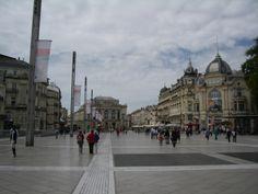 Place de la Comédie. Montpellier. Mai 2014.