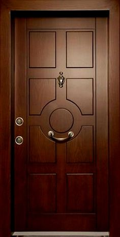 We will be looking into exterior door design ideas, after all, they're the welcoming point to your home. Get going and check the exterior door design that. Wooden Front Door Design, Double Door Design, Wood Front Doors, Entry Doors, Bedroom Door Design, Door Gate Design, Door Design Interior, Exterior Design, Single Main Door Designs