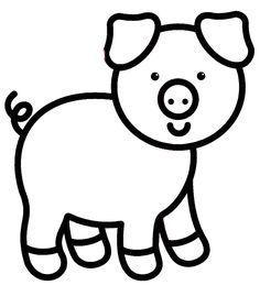 kleurplaat peuter kleurplaat varken kleurplaten nl