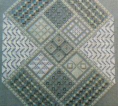 Designer: Loretta Spears  Type of needlework: Needlepoint  (Close-up)