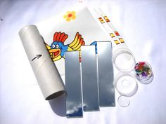 Kaleidoscope kit DIY kit Gifts Hand held Kaleidoscope Toys For kids Retro School project Stained glass Childrens toys 70s toys  KAL4 - pinned by pin4etsy.com
