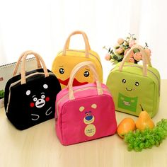 New Product Student Easy Package Cartoon Cartoon Lunch-box Bag Go On A Journey Picnic Package Handbag Picnic Package *** Read more at the image link. #HomeDecor