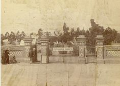 Adelaide Zoological Gardens in South Australia in 1883.