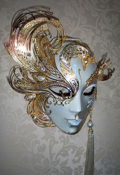 venetian porcelain masks - Google Search
