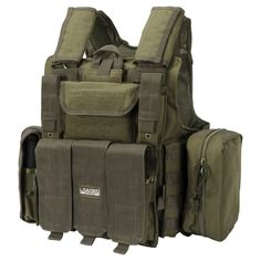 1fb46be3e43 Chaleco militar · Barska Loaded Gear VX-300 Tactical Vest Olive Drab Green  - BI12286 Ropa Táctica,