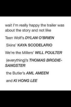 *(everything)'s Thomas Brodie-Sangster ... and Ki Hong Lee  ~haha everything
