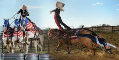 All American Cowgirl Chicks, Cowgirl Equestrian Drill Team, Trick Riding, Rodeo Entertainment