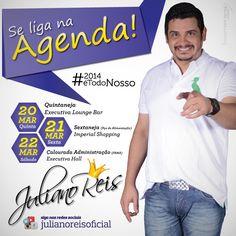 Agenciamento Digital Artístico - Juliano Reis (Fev. 2014 á Ago. 2014)